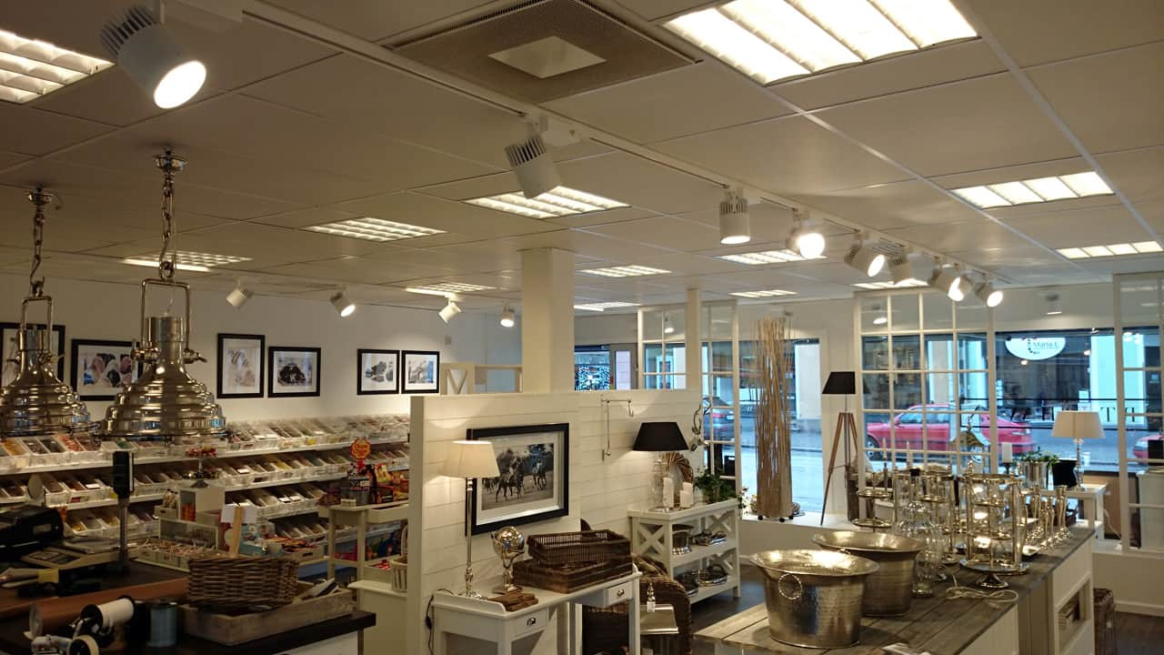 LED spotlight Silverspot i butik i Limhamn