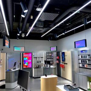 spotlights skena i butik